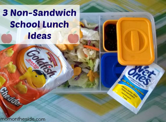 3 Non-Sandwich School Lunch Ideas