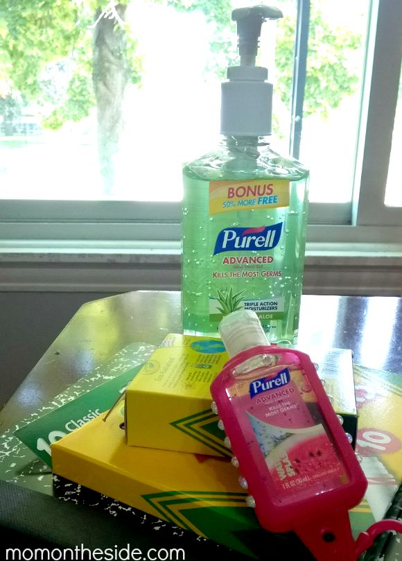 Purell Hand Sanitizer for Back to School