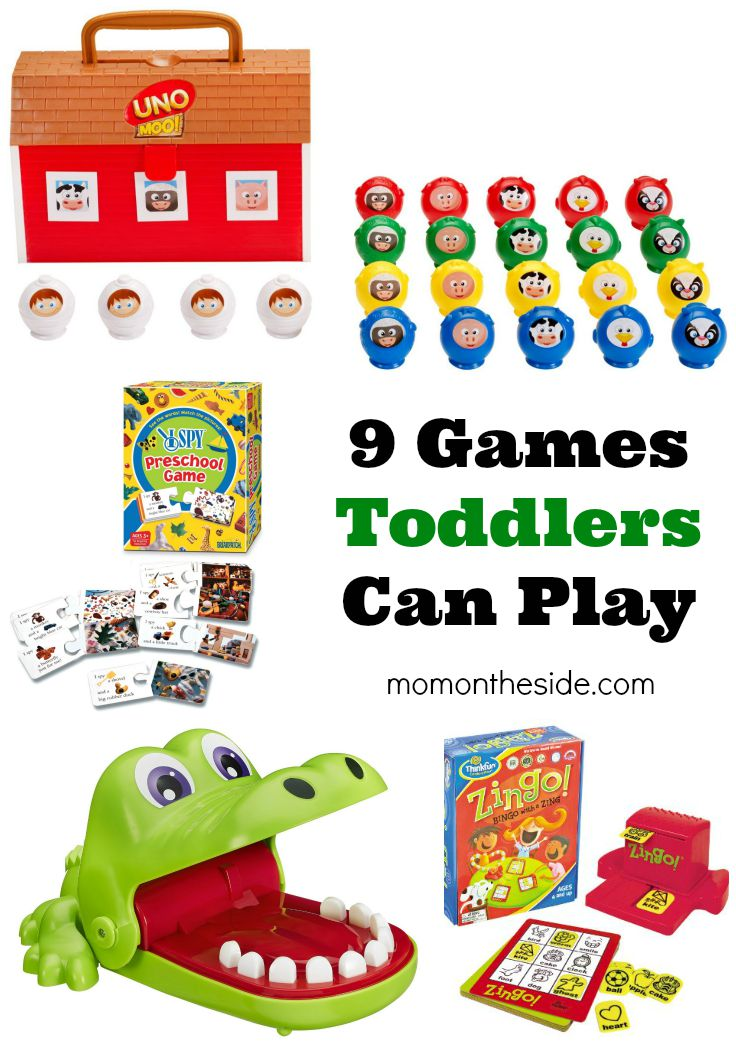9 Games Toddlers can Play that are perfect for Family Game Night!