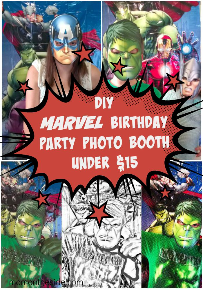 DIY Marvel Photo Booth