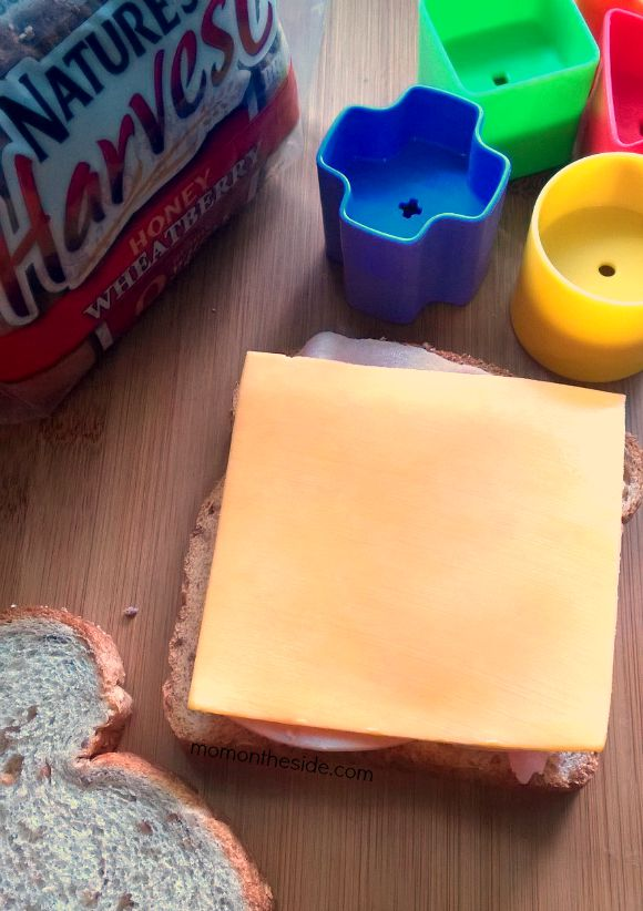 Shape Sandwiches for Toddlers that are easy and fun to make. These sandwiches for toddlers also make learning fun.