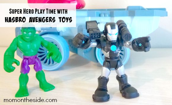 Super Hero Play Time with Hasbro Avengers Toys
