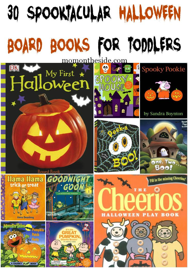 30 Spooktacular Halloween Board Books for Toddlers