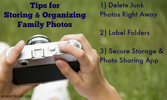 Tips for Storing and Organizing Family Photos
