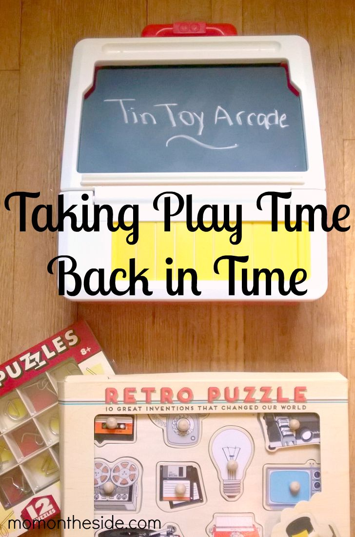 Taking Play Time Back in Time with Tin Toy Arcade