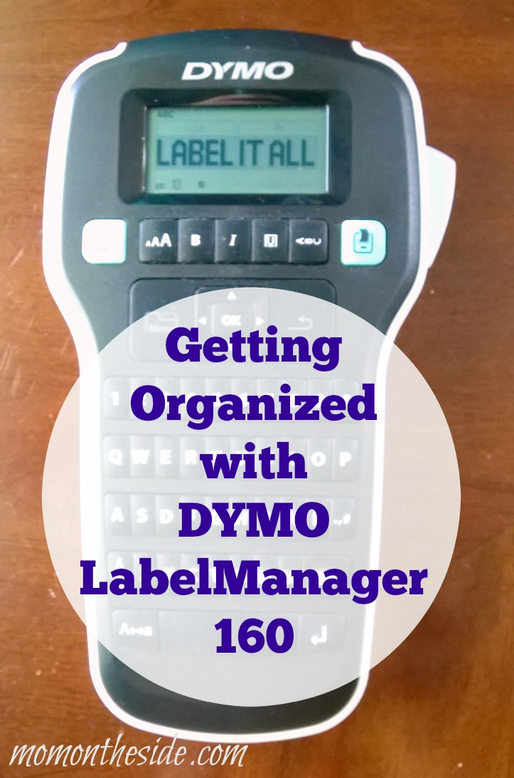 Getting Organized with DYMO LabelManager 160