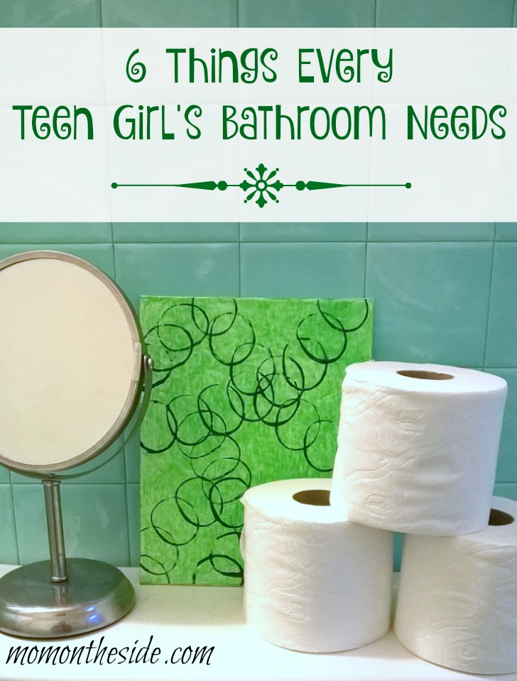 6 things every teen girl 39 s bathroom needs for Bathroom things