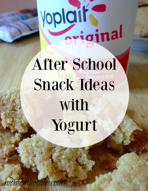 After School Snack Ideas with Yogurt