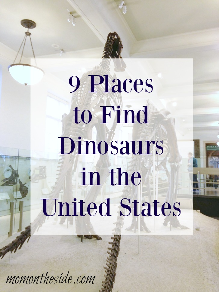 9 Places to Find Dinosaurs in the United States