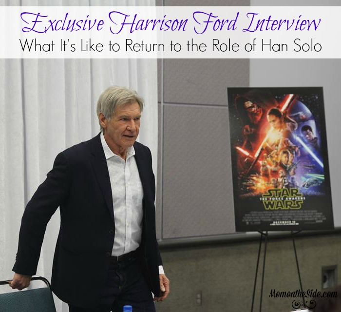 Exclusive Harrison Ford Interview: What It's Like to Return to the Role of Han Solo