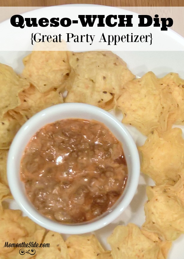Queso-WICH Dip: Great Party Appetizer