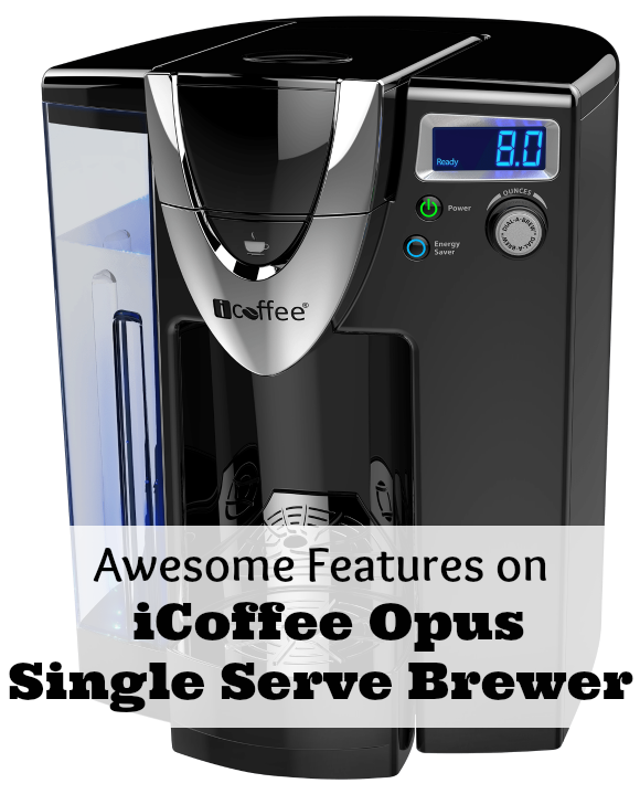 Awesome Features on iCoffee Opus Single Serve Brewer