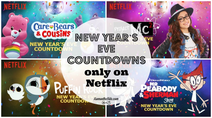 New Year's Eve Countdowns only on Netflix