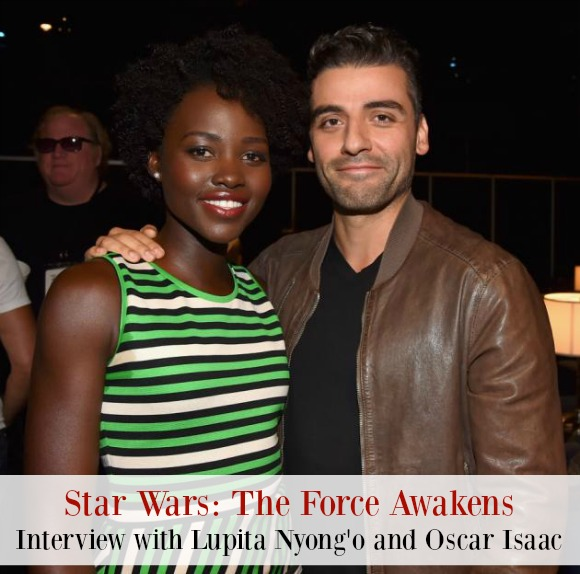 Exclusive Star Wars: The Force Awakens Interview with Lupita Nyong'o and Oscar Isaac