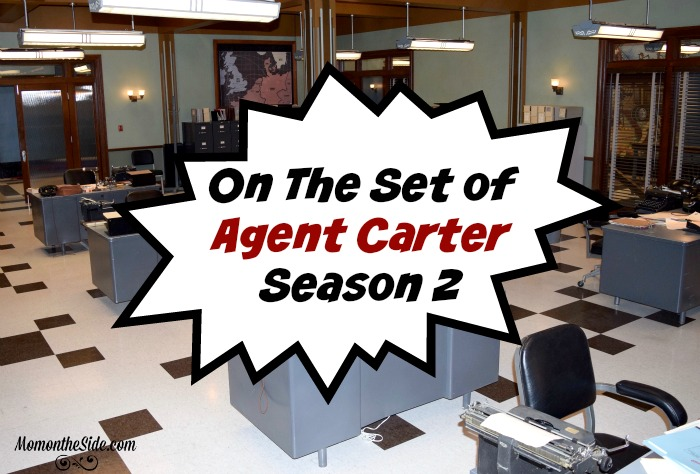 On The Set of Agent Carter Season 2 + Peggy Carter's Wardrobe