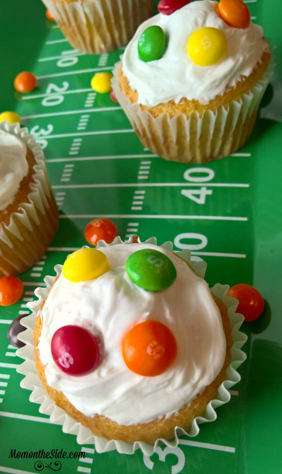 cupcakes with skittles