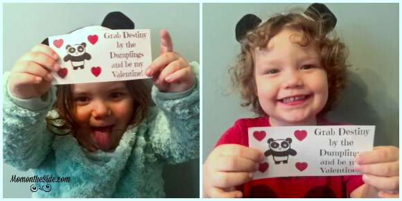 Printable Kung Fu Panda 3 Inspired Valentine Cards + Giveaway