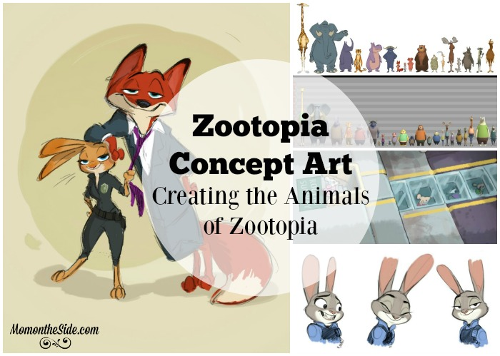 Zootopia Concept Art and Creating the Characters of Zootopia
