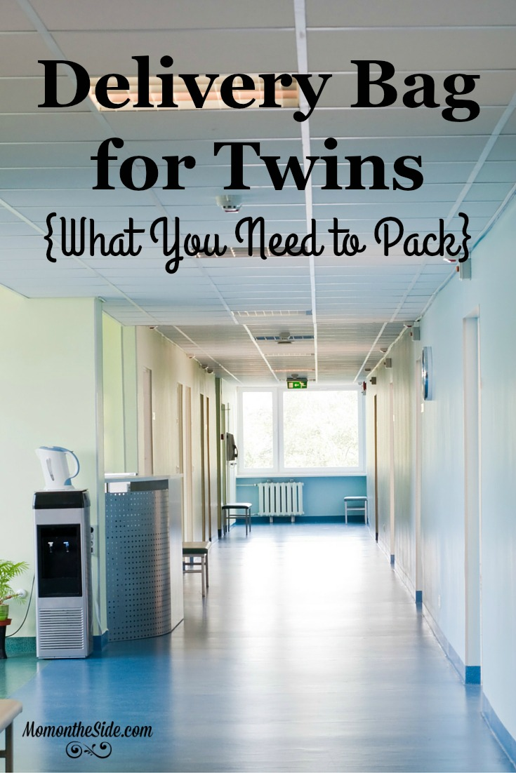 Delivery Bag for Twins: What You Need to Pack for YOU and the twins