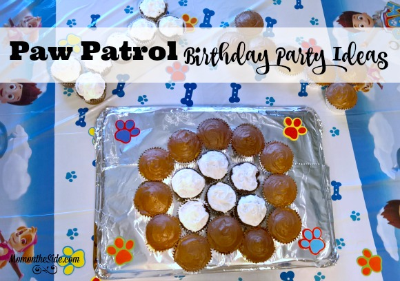 Paw Patrol Birthday Party Ideas including Paw Patrol themed food and games if you are looking for party themes for your next get together!