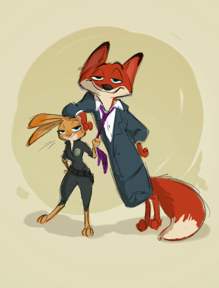 Zootopia Concept Art + Creating the Characters of Zootopia