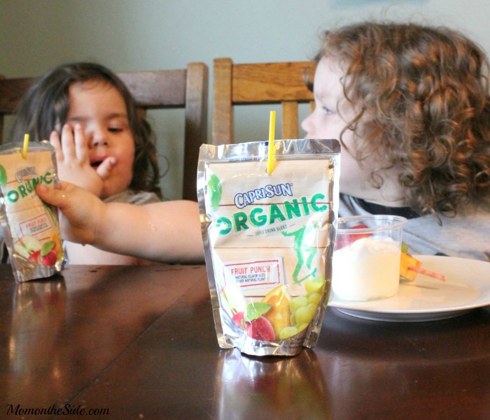 Super Simple Kid-Friendly Lunches and Capri Sun Organic