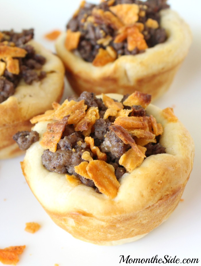 Hot and Spicy Beef Cups + Basketball Party Ideas