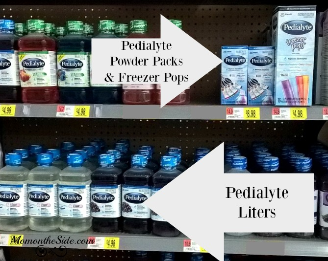 DIY Hydration Kit and Pedialyte at Walmart