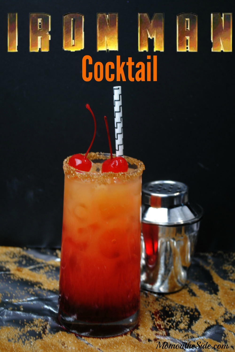 Iron Man Cocktail Recipe to celebrate Captain America: Civil War
