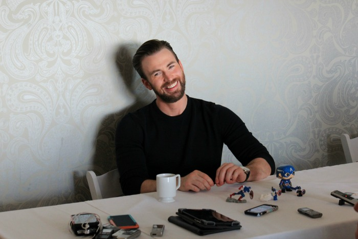 Flexing, Tender Heart Bear, and Captain America: Exclusive Chris Evans Interview