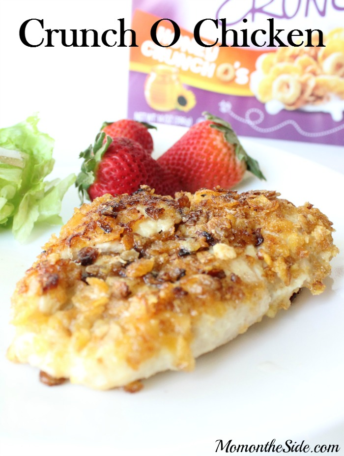 Crunch O Chicken Dinner Recipe that is super easy to make, and is loaded with flavor and crunch!