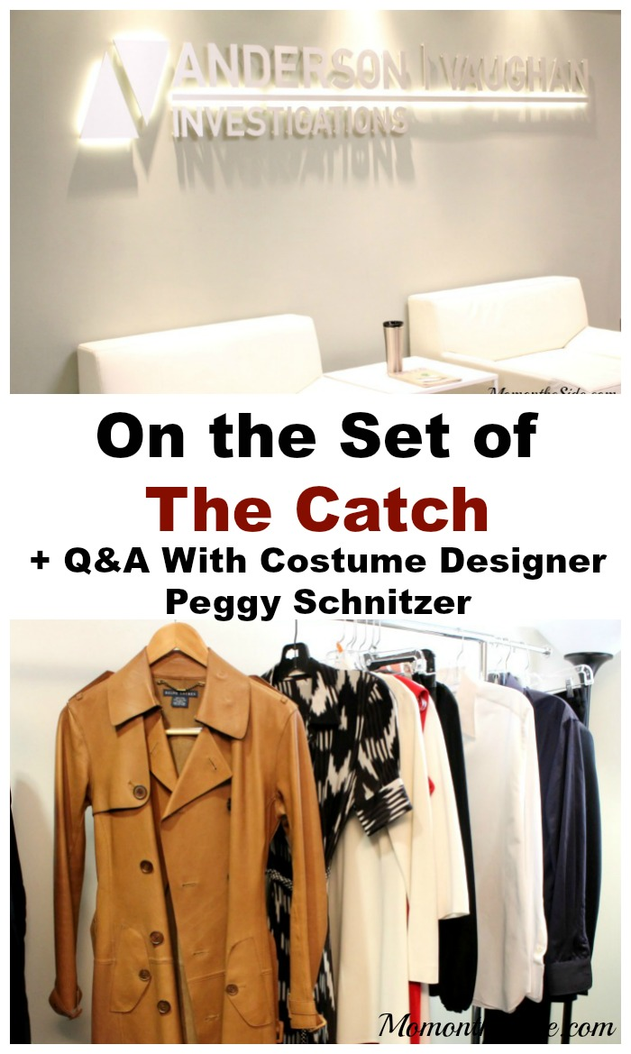 On the Set of The Catch + Q&A With Costume Designer Peggy Schnitzer