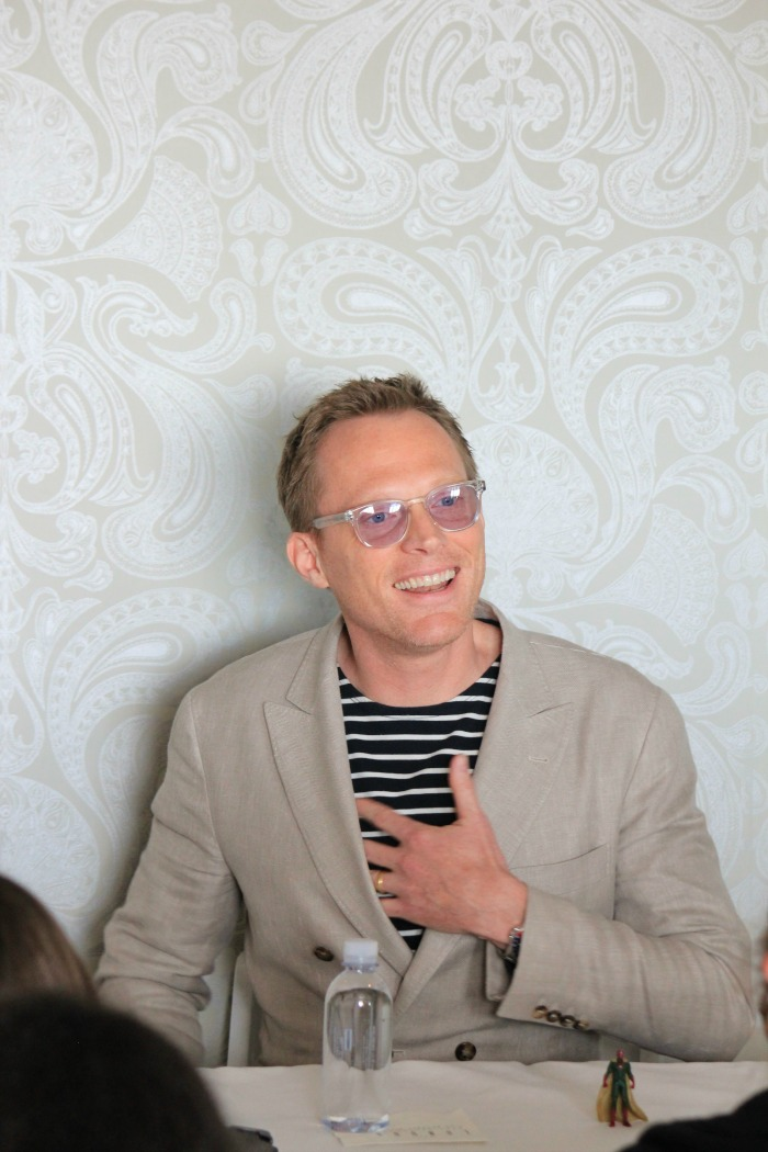 Hotness, Love, and Vision: Paul Bettany Captain America: Civil War Interview