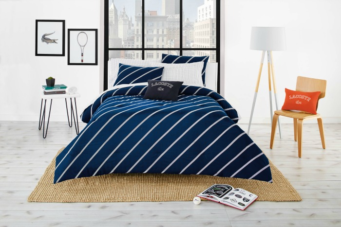 New Lacoste College Bedding Collection