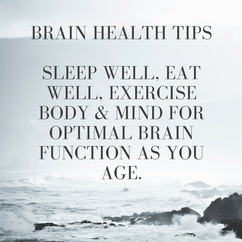 No Regrets with Life's Simple 7 for Brain Health