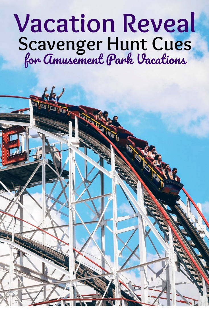 amusement park scavenger hunts