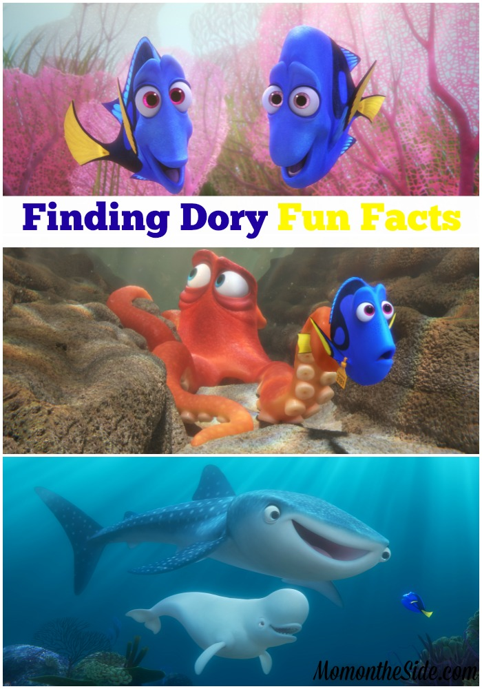 finding dory fun facts