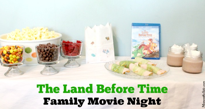 The Land Before Time Family Movie Night Snacks