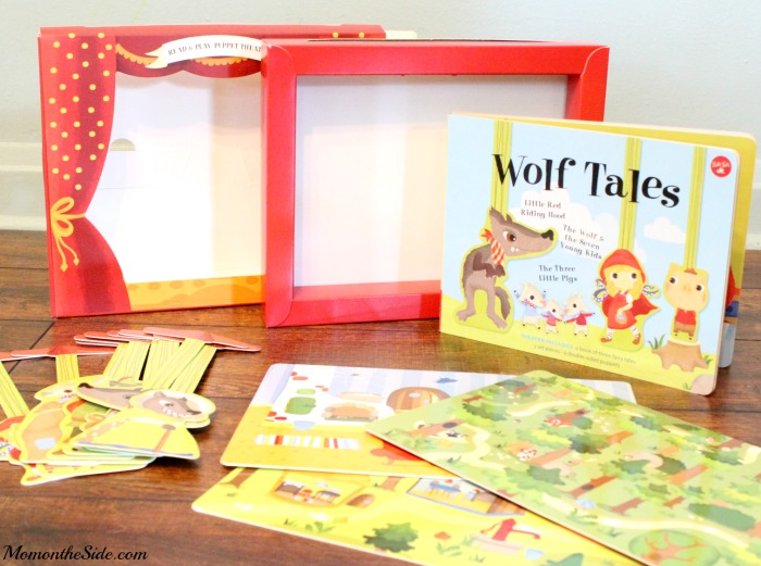Read and Play Puppet Theater