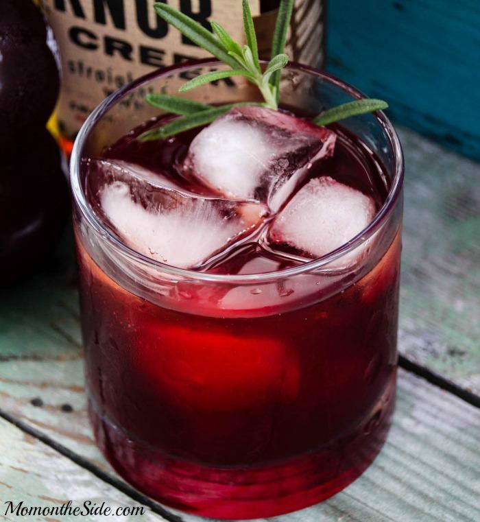 Bourbon Pomegranate Sour