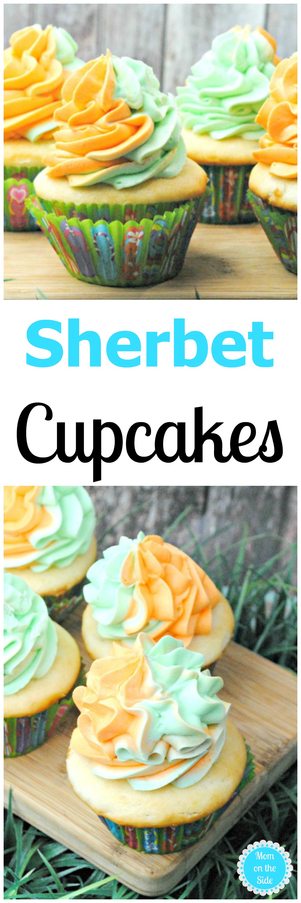 Grab this Sherbet Cupcakes recipe on Mom on the Side, and whip them up for your family, or hide them and keep them all to yourself!