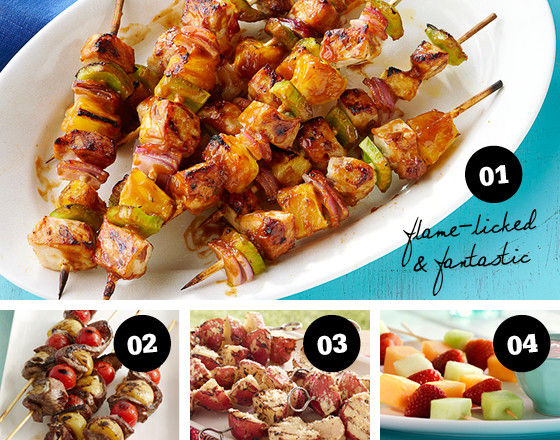 12 Ingenious Ways to Put Food on a Stick this Summer