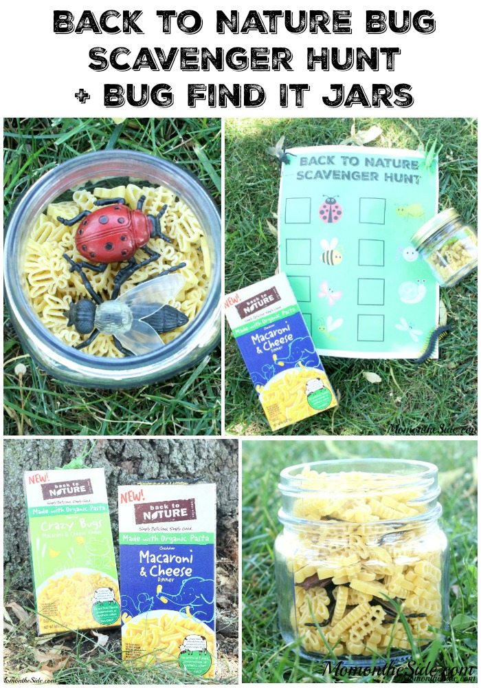 Back to Nature Bug Scavenger Hunt + Bug Find It Jars