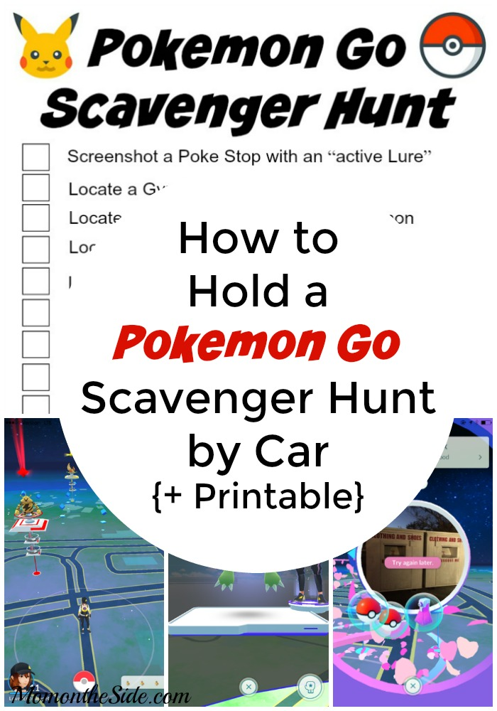 pokemon go scavenger hunt