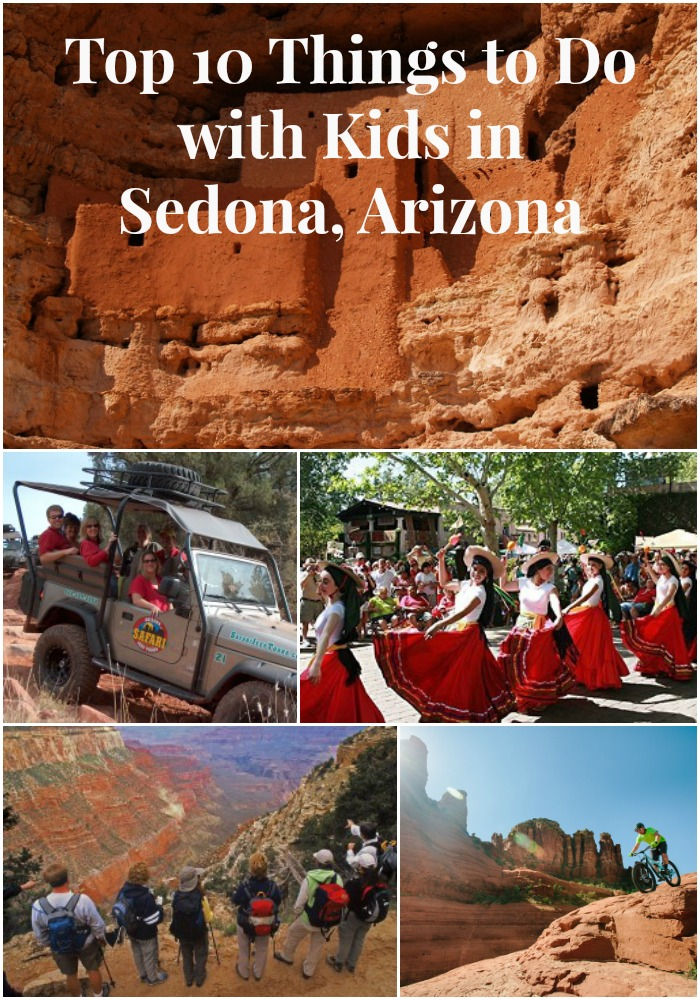 Top 10 Things to Do with Kids in Sedona, Arizona