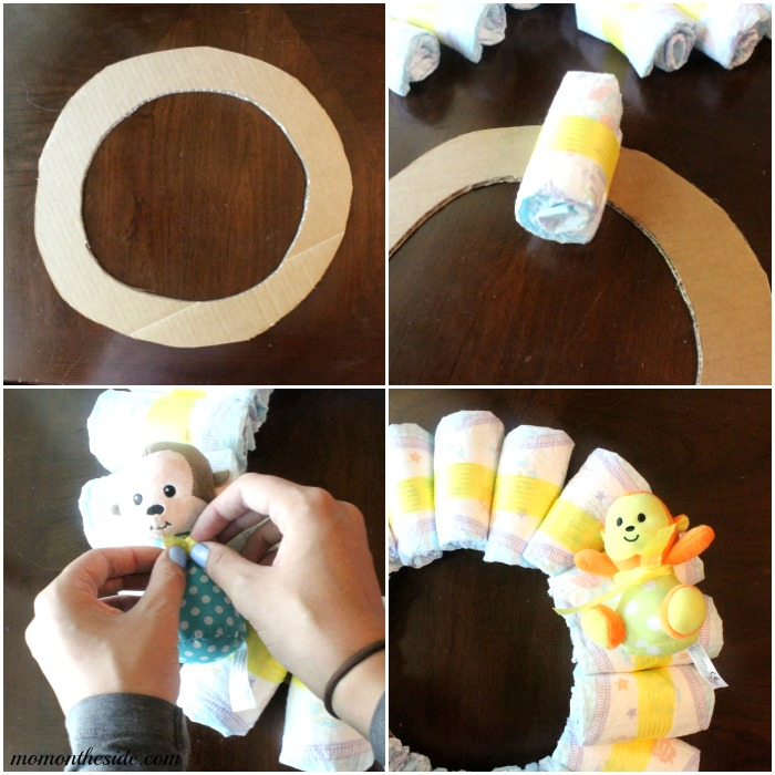 Monkey Themed Baby Shower for Twins