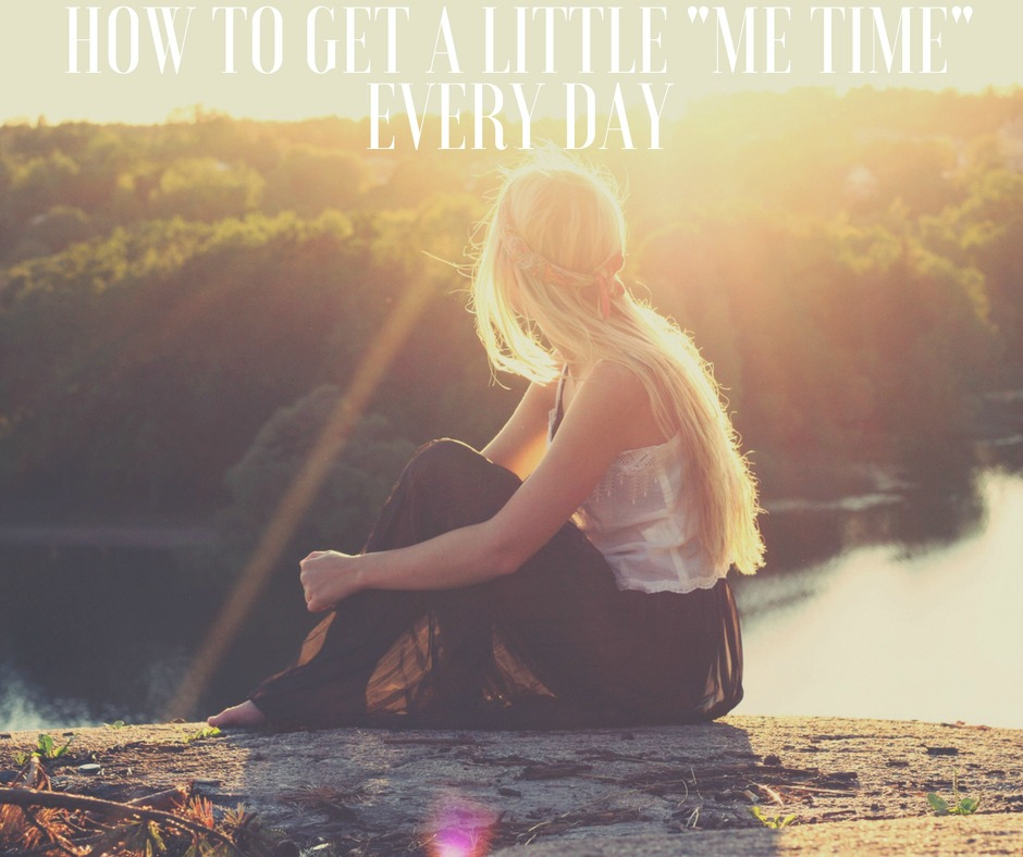 How to Get a Little Me Time Every Day
