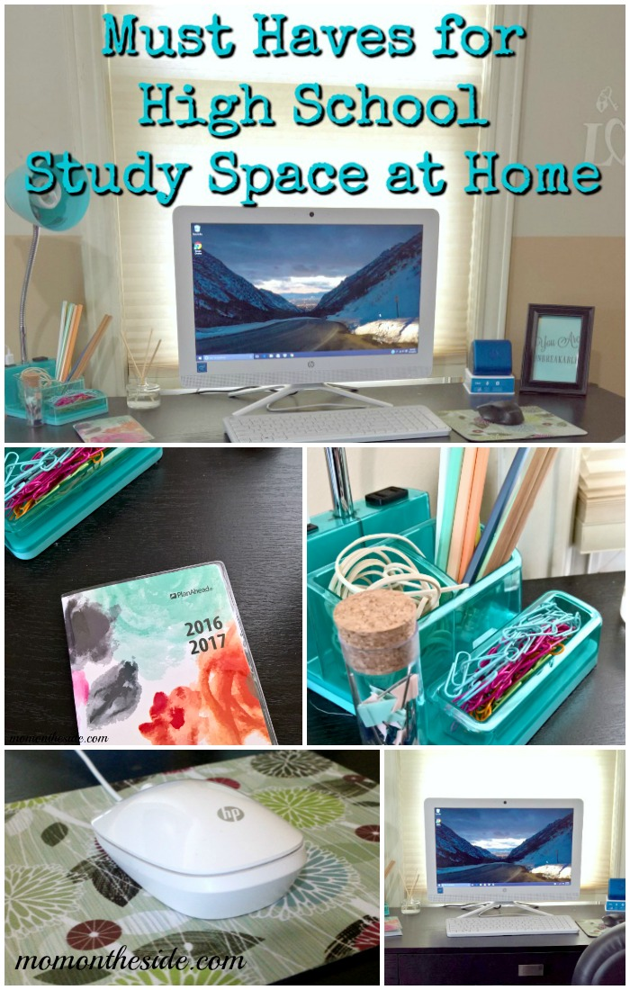 Must Haves for High School Study Space at Home