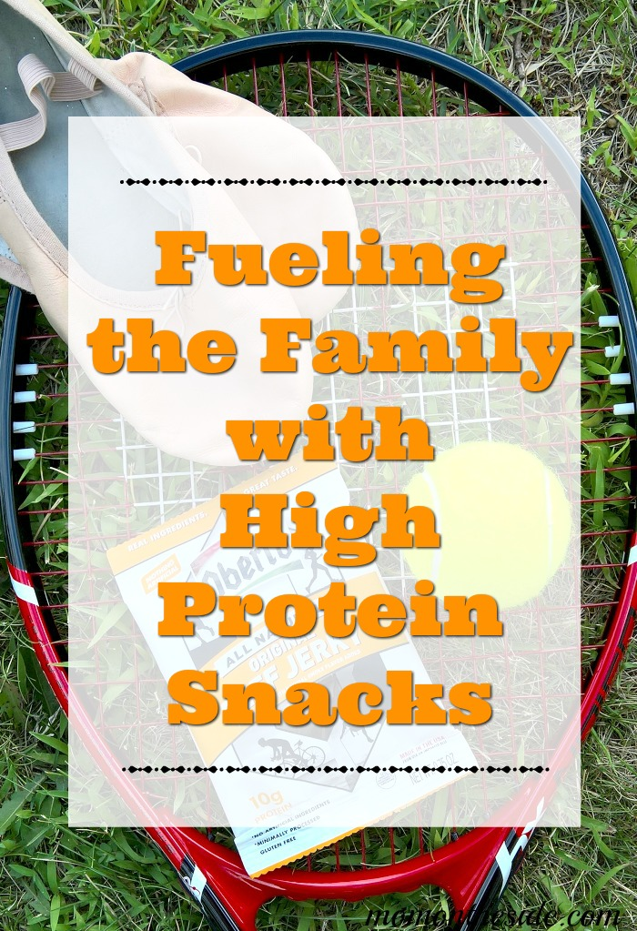 Fueling the Family with High Protein Snacks