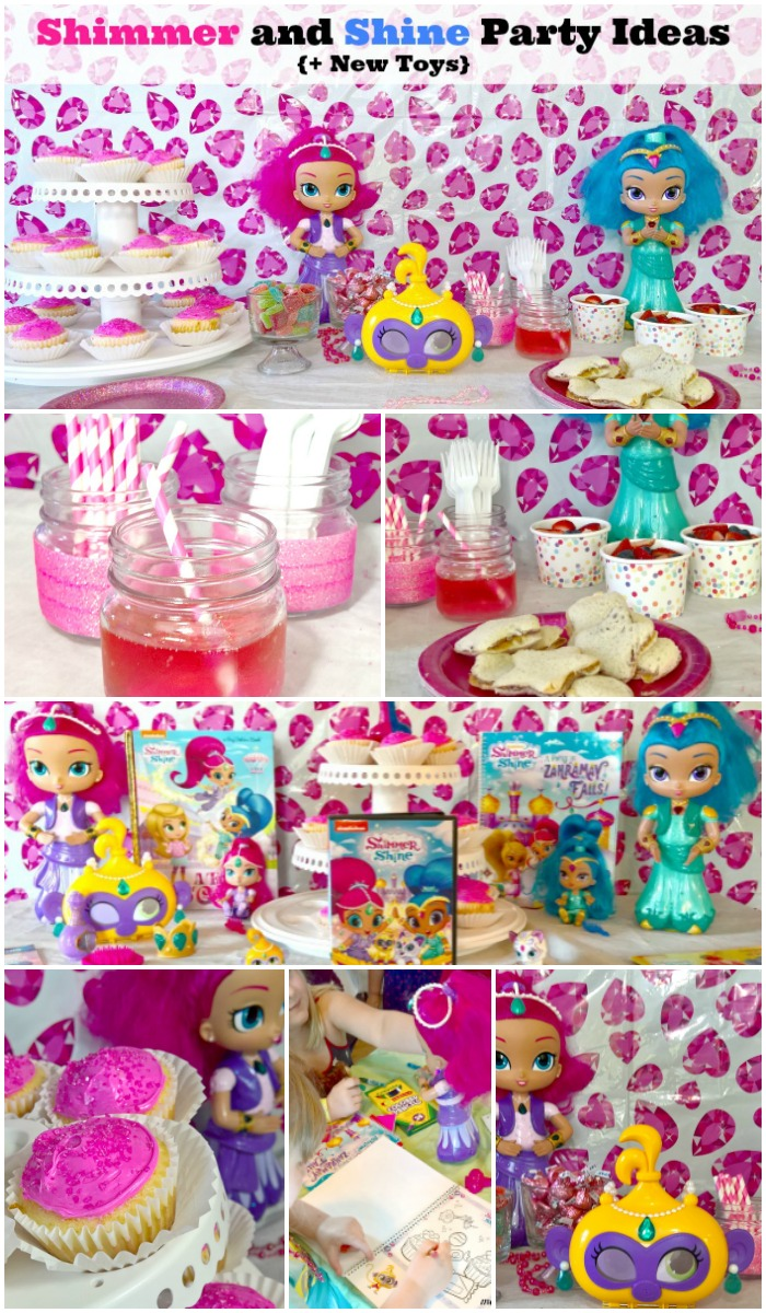 shimmer and shine party